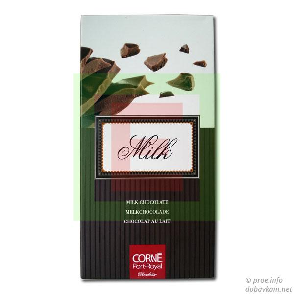 Milk chocolate «Corne Port-Royal»